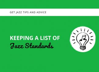 Keeping a List of Jazz Standards
