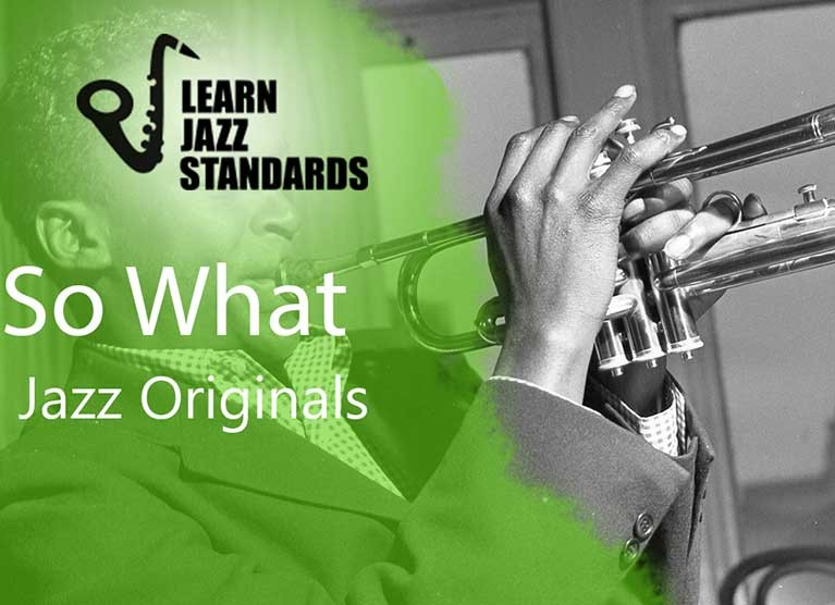 So What Learn Jazz Standards