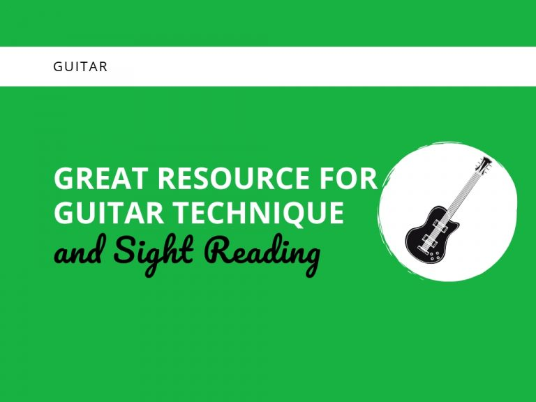 Great Resource for Guitar Technique and Sight Reading