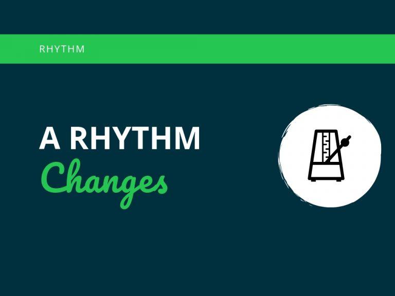 A Rhythm Changes