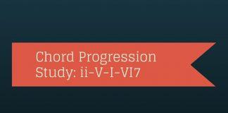 Chord progression study