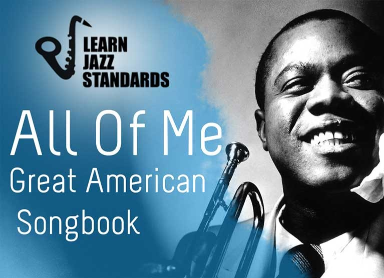 All Of Me Learn Jazz Standards