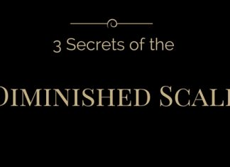 3 secrets of the Diminished Scale