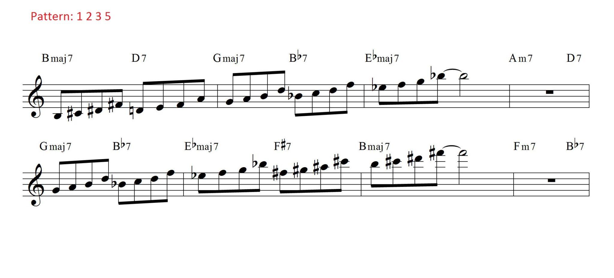 Coltrane Changes 1235