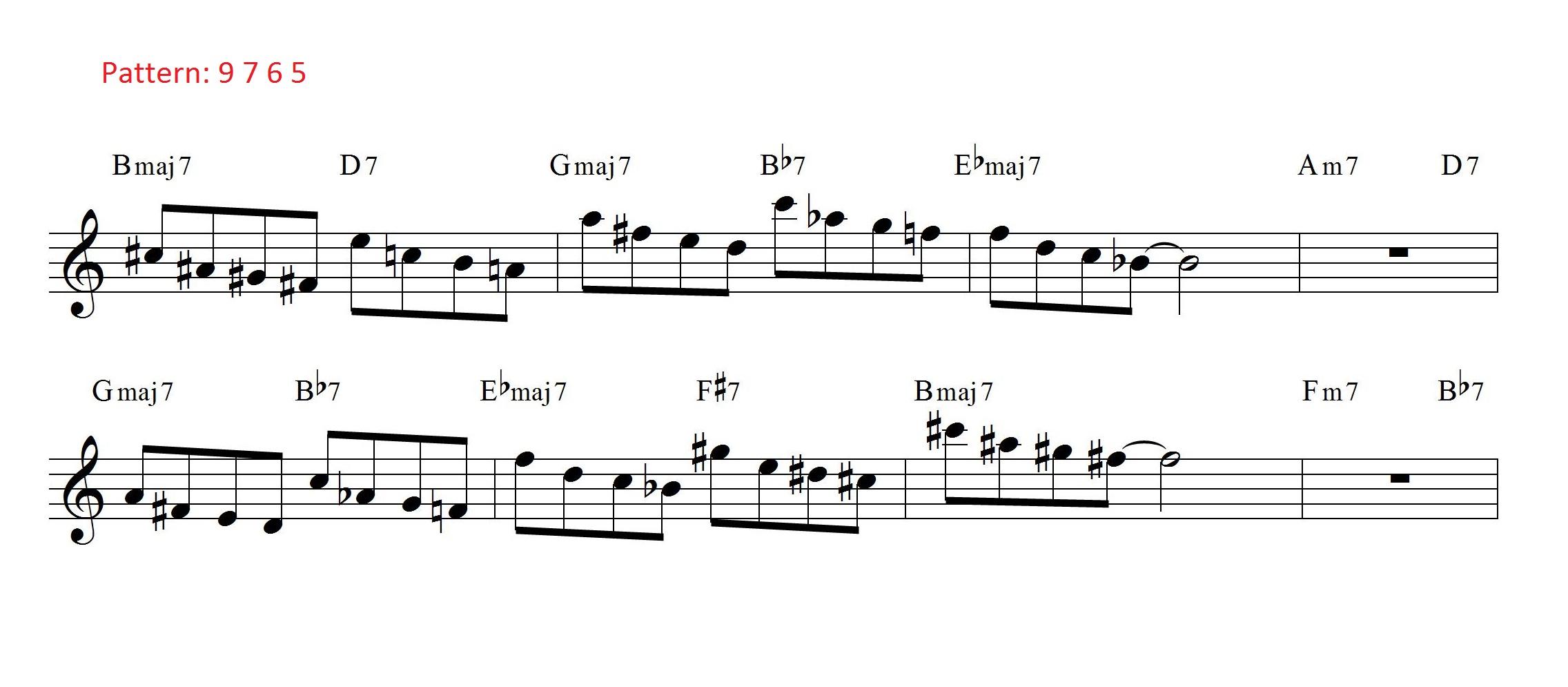 Coltrane Changes 9765