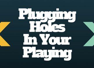 Pluggin holes