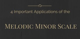 4 Important applications of the Melodic Minor Scale