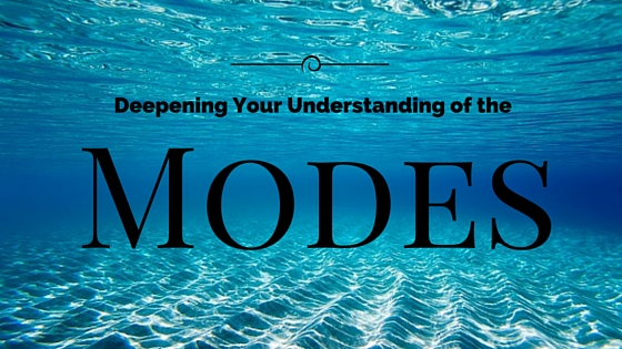 Deepening your understanding of the Modes
