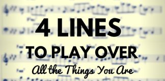 4 LINES TO PLAY OVER