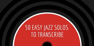 50 Easy Jazz Solos To Transcribe