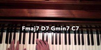 Fmaj7 D7 Gmin7 C7