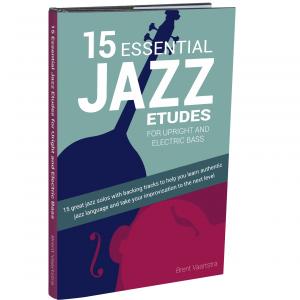 15 Essential Jazz ETUDES BASS