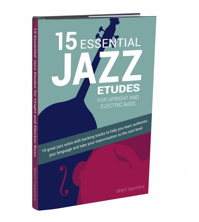 15 Essential Jazz ETUDES BASS