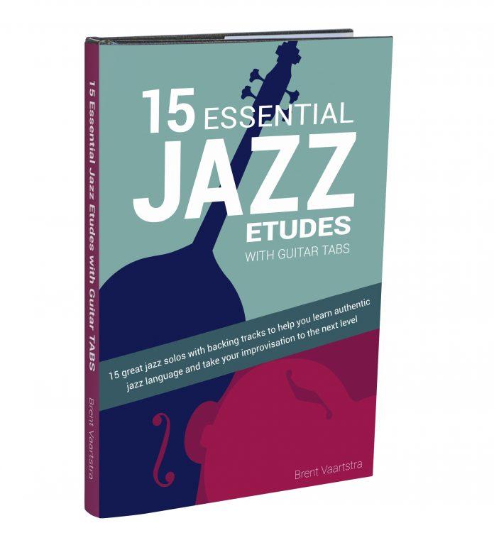 15 Essential Jazz ETUDES Guitar TABS