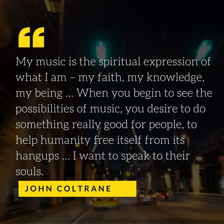 Coltrane-Quote