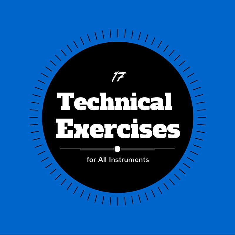 17 Technical Exercises for All Instruments