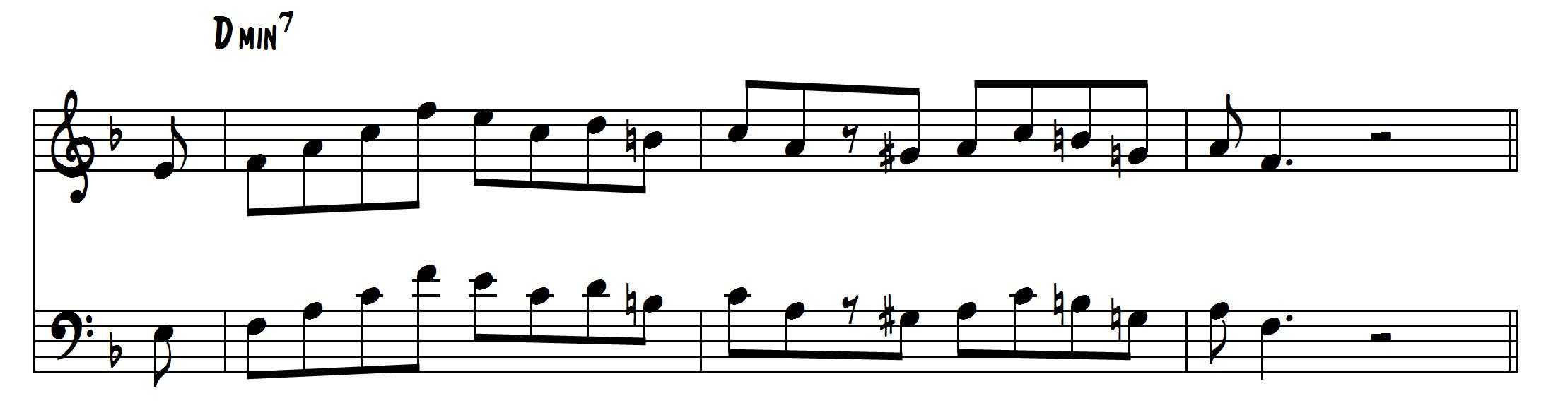 6 Licks to Play Over Minor 7 Chords - Learn Jazz Standards