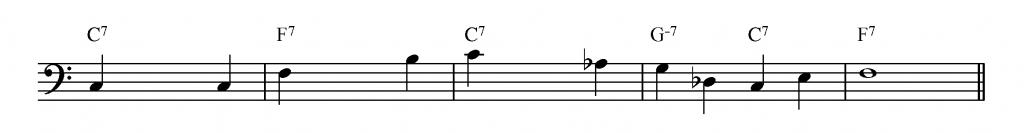 Bass Lines To Learn : how to write a walking bass line learn jazz standards ~ Hamham.info Haus und Dekorationen