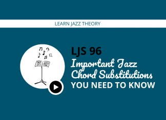 Important Jazz Chord Substitutions You Need to Know