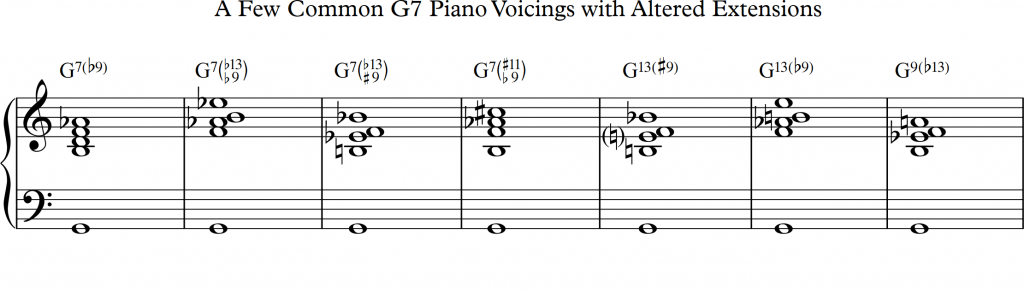 3 Dominant 7th Chord Types All Jazz Musicians Encounter - Learn Jazz