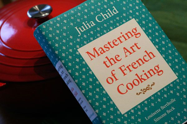 Julia Child and learning jazz standards