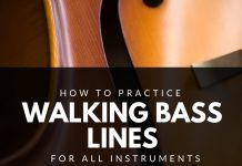 How to Practice Walking Bass Lines for All Instruments
