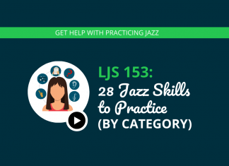 28 Jazz Skills to Practice (by Category)