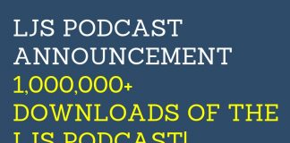 1,000,000 Downloads of the LJS Podcast