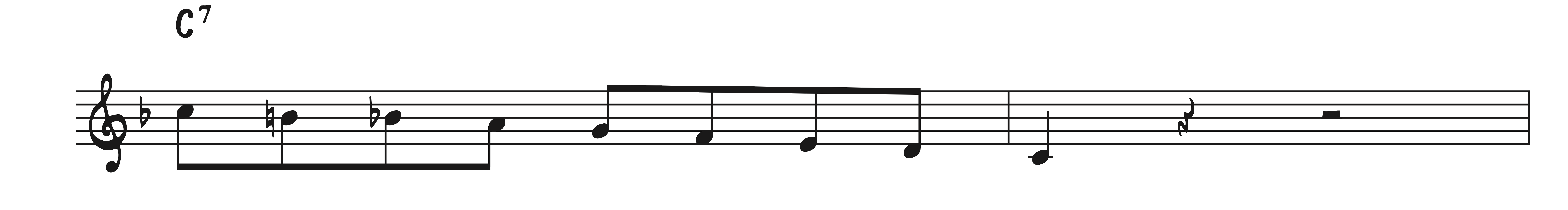 Using the Bebop Scale on Days of Wine and Roses - Learn Jazz Standards