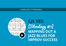 [Strategy #1] Mapping out a Jazz Blues for Improv Success