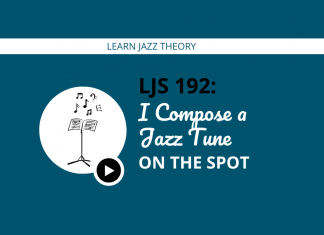 I Compose a Jazz Tune on the Spot