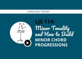 Minor Tonality and How to Build Minor Chord Progressions