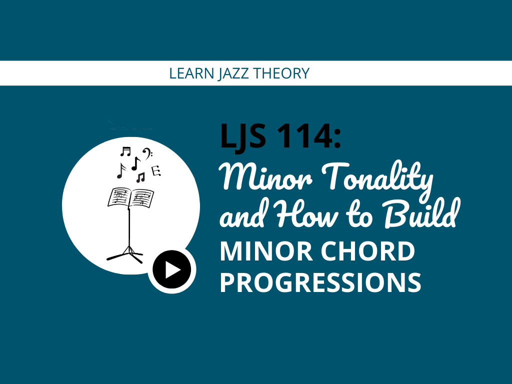 Minor Tonality and How to Build Minor Chord Progressions