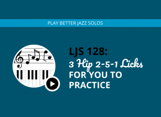 3 Hip 2-5-1 Licks for You to Practice