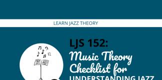 Music Theory Checklist for Understanding Jazz Improvisation