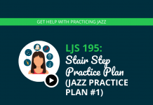Stair Step Practice Plan (Jazz Practice Plan #1)