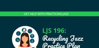 Recycling Jazz Practice Plan (Jazz Practice Plan #2)
