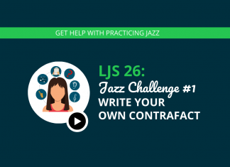 Jazz Challenge #1 Write Your Own Contrafact