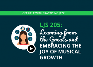 Learning from the Greats and Embracing the Joy of Musical Growth (feat. Shirley Jansen)