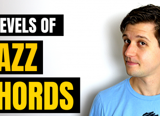 Make Chords Sound Like Jazz (4 Levels)