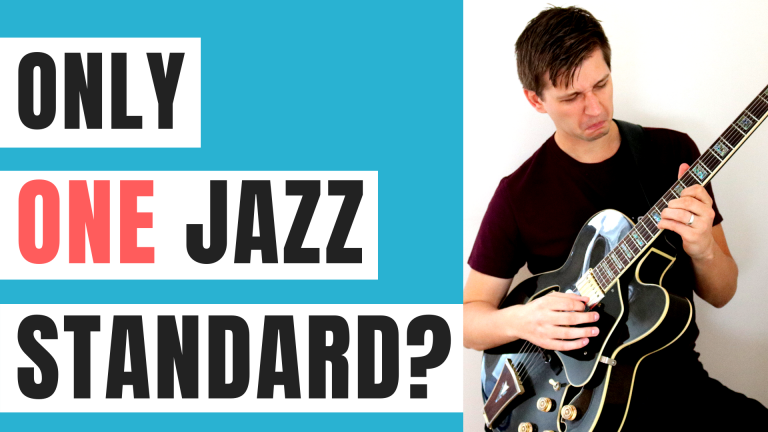 ONLY Jazz Standard I Would Play for the REST OF MY LIFE