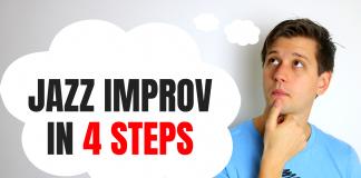4 Steps for Learning Jazz Improvisation