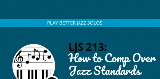 How to Comp Over Jazz Standards Like a Pro