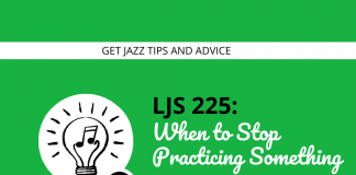 When to Stop Practicing Something and Move On