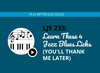 Learn These 4 Jazz Blues Licks (You'll Thank Me Later)