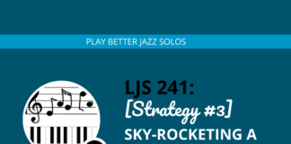 [Strategy #3] Sky-Rocketing a Minor Blues with Bebop Language