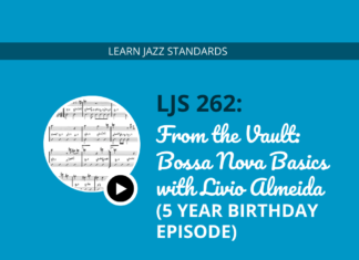 From the Vault- Bossa Nova Basics with Livio Almeida