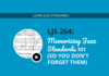 Memorizing Jazz Standards 101 (So You Don't Forget Them)
